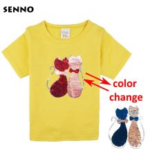 double sided sequins t-shirt for girls 31