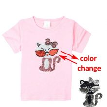 double sided sequins t-shirt for girls 38