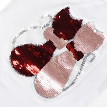 double sided sequins t-shirt for girls 46