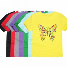 floral butterfly printed cotton t-shirt 15