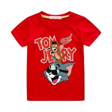 tom and jerry print casual t-shirt 02