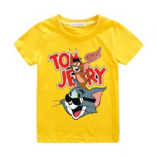 tom and jerry print casual t-shirt 06