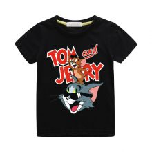 tom and jerry print casual t-shirt 07
