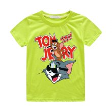 tom and jerry print casual t-shirt 08