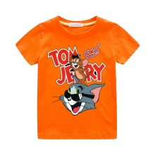tom and jerry print casual t-shirt 09