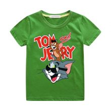 tom and jerry print casual t-shirt 10