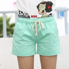 Cute Summer Casual Loose Cotton Women's Shorts (PID1503)
